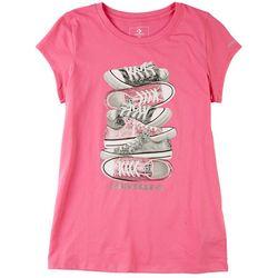 Converse Big Girls Sneaker T-Shirt
