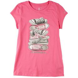 Big Girls Sneaker T-Shirt