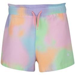 Big Girls Tie-Dye Paperbag Shorts