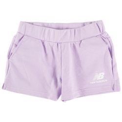New Balance Big Girls Core Heathered Shorts