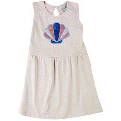 4 Hearts Big Girls Glitter Shell Dress