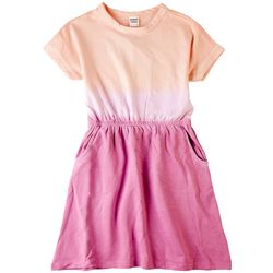 Reverse Threads Big Girls Justice Ombre Pocket Dress