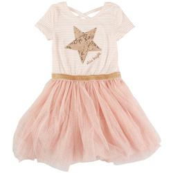 Little Girls Star Shine Bright Tutu Dress
