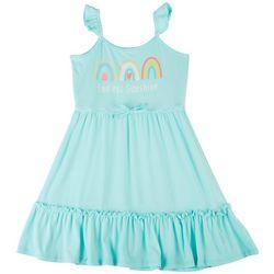Sweet Butterfly Big Girls Endless Sunshine Tier Dress