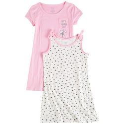 Sweet Butterfly Little Girls 2-pk. Hang Out Star Dress Set