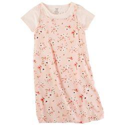 Sweet Butterfly Big Girls 2-pc. Floral Print Dress Set