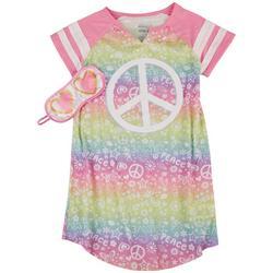 Big Girls 2-pc. Peace Pajama Gown