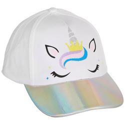 Girls Unicorn Baseball Hat