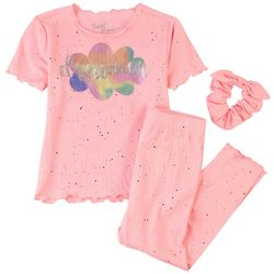 Sweet Dreams Little Girls 3-pc. Dreamer Pajama Set