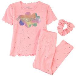 Little Girls 3-pc. Dreamer Pajama Set