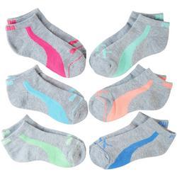 Girls 6-pk. Premium Low Cut Socks