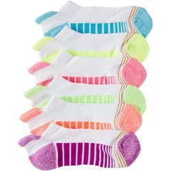 Girls 6-pk. Ultra Tec Tab No Show Socks