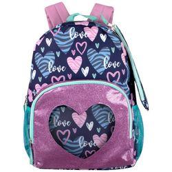 AD Sutton Zebra Heart Backpack Set
