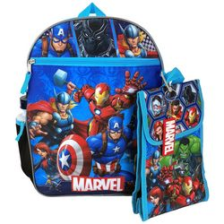 Marvel 5-in-1 Backpack Set