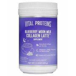 Collagen Latte Blueberry Moon Milk 11.5 oz.