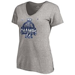 Tampa Bay Lightning Womens Stanley Cup Champs T-Shirt