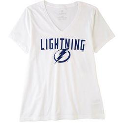 Tampa Bay Lightning Juniors Lightning T-Shirt by Fanatics