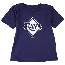 Tampa Bay Rays Little Boys Logo Rays T-Shirt