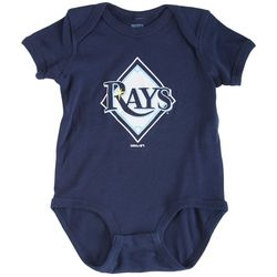 Tampa Bay Rays Baby Boys Logo Rays Bodysuit