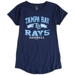 Tampa Bay Rays Big Boys Logo Screen Print T-Shirt