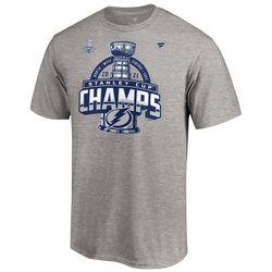 Tampa Bay Lightning Mens Champs Heather T-Shirt by Fanatics