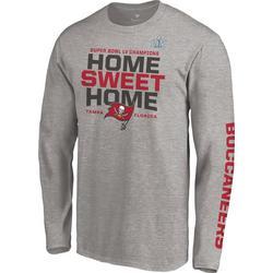 Buccaneers Mens Super Bowl LV Home Sweet Home T-Shirt