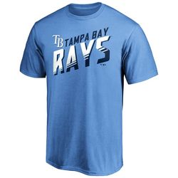 Tampa Bay Rays Mens Solid Graphic Logo T-Shirt