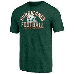 Miami Hurricanes Mens Heathered T Shirt by Fanatics