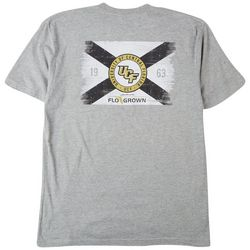 FloGrown Mens UCF Flag Heathered T-Shirt