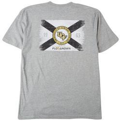 Mens UCF Flag Heathered T-Shirt