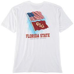 FloGrown Mens FSU Flag Graphic T-shirt