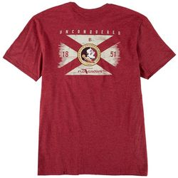 FloGrown Mens FSU Flag T-shirt
