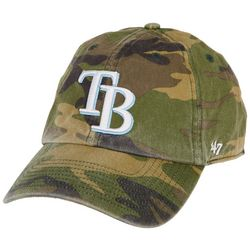 Tampa Bay Rays Camo Embroidered Hat By 47 Brand