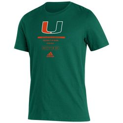 Miami Hurricanes Mens UM Solid T-Shirt by Victory