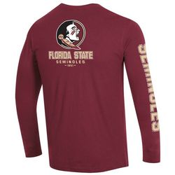 FSU Mens Seminoles 1851 Logo Long Sleeve T-Shirt