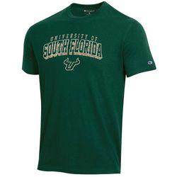 USF Bulls Mens Heathered Short Sleeve T-Shirt by Champion