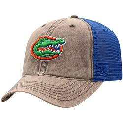 Florida Gators Mens Washed Offroad Hat By Top Of The World