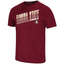 Florida State Mens Burgundy Logo T-Shirt