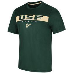 USF Bulls Mens Varsity Stripes T-Shirt by Colosseum