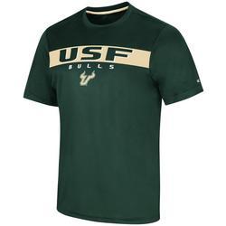 USF Bulls Mens Varsity Stripes T-Shirt