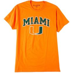 Miami Hurricanes Mens UM Promo Solid T-Shirt by Victory