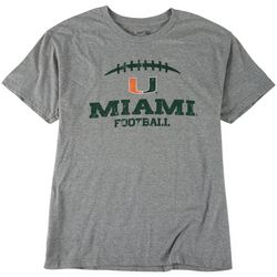 Miami Hurricanes Mens UM Heathered T-Shirt