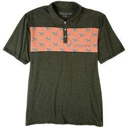 Miami Hurricanes Mens UM Promo Polo Shirt by