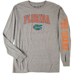 UF Mens G1 Heathered Team Long Sleeve T-Shirt by Victory