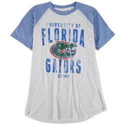 Florida Gators Mens Heathered Front Print T-Shirt