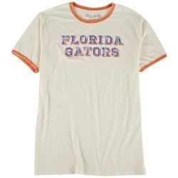 UF Gators Mens Vintage Look Ringer T-Shirt by Victory
