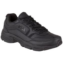 Mens Memory Workshift Slip Resistant Shoes