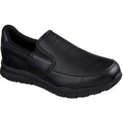 Skechers Mens Groton Slip Resistant Work Shoes