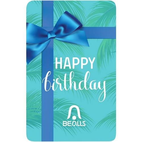 Bealls Florida Happy Birthday Gift Card Bealls Florida