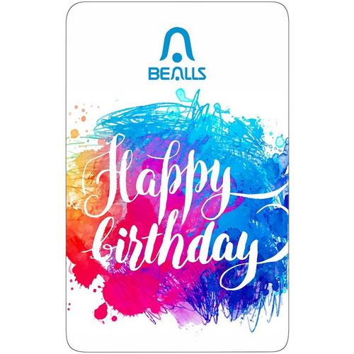Bealls Florida Birthday Wishes Gift Card